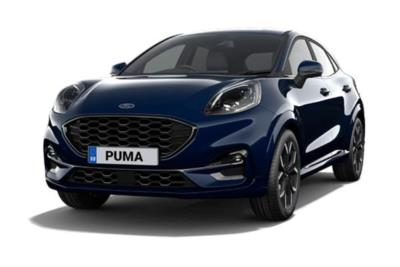 Ford Puma Hatchback 1.0 EcoBoost Hybrid mHEV ST-Line X 5dr Business Contract Hire 6x35 10000
