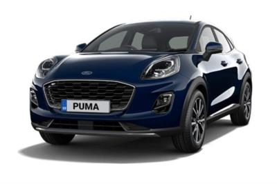 Ford Puma Hatchback 1.0 EcoBoost Hybrid mHEV Titanium 5dr Business Contract Hire 6x35 10000