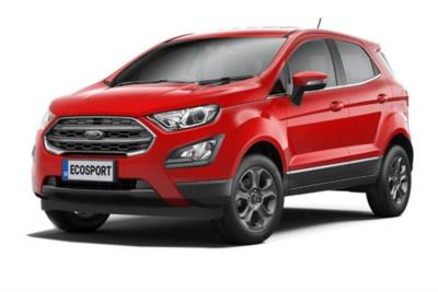 Ford Ecosport 1.0 Ecoboost 125 Zetec Navigation 5dr Auto Business Contract Hire 6x35 10000