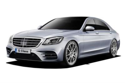 Mercedes Benz S Class Diesel Saloon S350d AMG Line Rear Luxury Lounge 4dr 9G-Tronic Business Contract Hire 6x35 10000