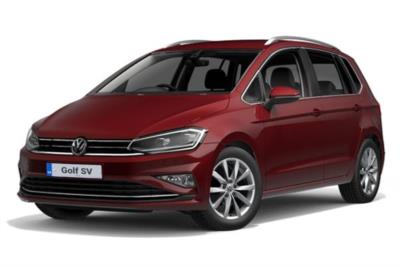 Volkswagen Golf SV Diesel Hatchback 1.6 Tdi 115ps Match Edition 5dr Business Contract Hire 6x35 10000