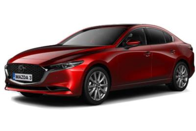 Mazda 3 Saloon 2.0 Skyactiv-X MHEV Sport Lux 4dr Auto Business Contract Hire 6x35 10000