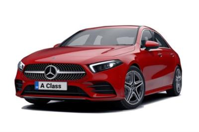 Mercedes Benz A Class Diesel Saloon A180d AMG Line Executive 4dr Auto Business Contract Hire 6x35 10000