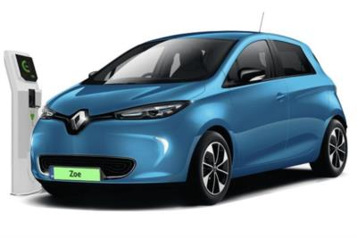 Renault Zoe Hatchback 80kW i Iconic R110 50KWh Rapid Charge 5dr Auto Business Contract Hire 6x35 10000