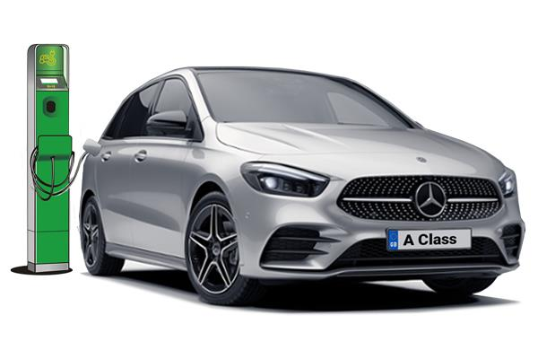 Mercedes Benz A Class Saloon A250e AMG Line Executive 4dr Auto Business Contract Hire 6x47 8000