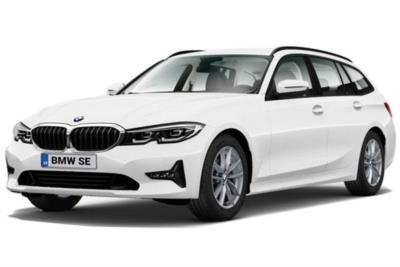 Bmw 3 Series Diesel Touring 320d M Sport 5dr Step Auto [Tech/Plus Pack] Business Contract Hire 6x35 10000
