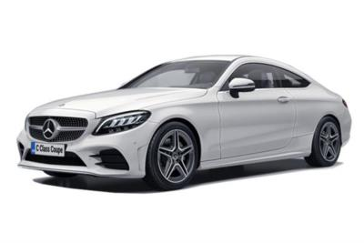 Mercedes Benz C Class Diesel Coupe C300d 4Matic AMG Line 2dr 9G-Tronic Business Contract Hire 6x35 10000