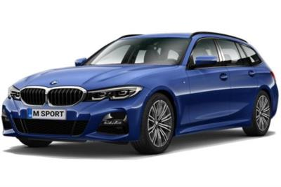 Bmw 3 Series Diesel Touring 330d M Sport 5dr Step Auto [Tech/Plus Pack] Business Contract Hire 6x35 10000