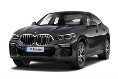 Bmw X6 M Estate xDrive X6 M Competition 5dr Step Auto [Ultimate] Business Contract Hire 6x35 10000