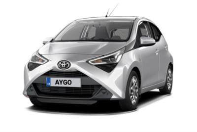 Toyota Aygo Hatchback 1.0 Vvt-i X-Play 5dr [X-Nav] x-shift Business Contract Hire 6x35 10000