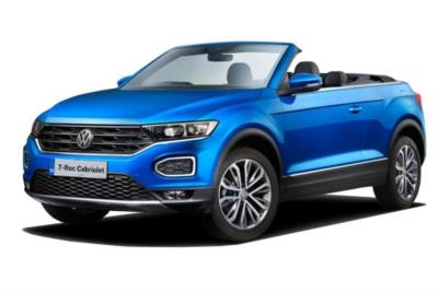 Volkswagen T-Roc Cabriolet 1.5 Tsi R-Line 2dr DSG Business Contract Hire 6x35 10000