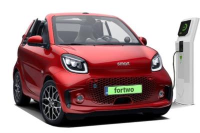 Smart ForTwo Electric Cabrio 60kW EQ Prime Exclusive 17kWh 5dr Auto [22kWCh] Business Contract Hire 6x35 10000