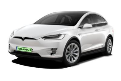 Tesla Model X Hatchback Performance Ludicrous AWD 5dr Auto Business Contract Hire 6x35 10000