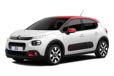 Citroen C3 Diesel Hatchback 1.5 BlueHdi 100 Flair Plus 5dr [5 Speed] Business Contract Hire 6x35 10000