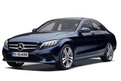Mercedes Benz C Class Saloon Special Editions C300de AMG Line Night Ed Premium Plus 4dr 9G Tronic Business Contract Hire 6x35 10000