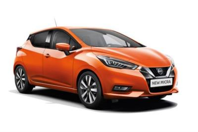 Nissan Micra Hatchback 1.0 IG-T 100 Acenta 5dr Xtronic [Vision - Exteriror - Bose] Business Contract Hire 6x35 10000
