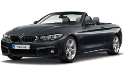 Bmw 4 Series Diesel Convertible 420d [190] M Sport 2dr Auto [Professional Media] Business Contract Hire 6x35 10000