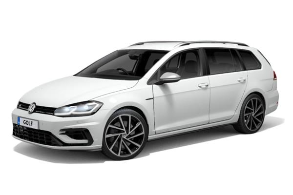 Volkswagen Golf Estate 2.0 Tsi 300 R 5dr 4Motion Dsg Business Contract Hire 6x35 10000