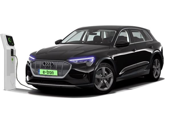 Audi e-tron Estate 230Kw 50 Quattro 71KWh Black Edition 5dr Auto Business Contract Hire 6x35 10000