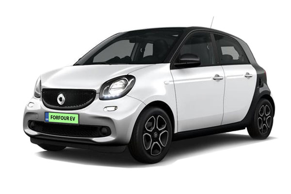 Smart ForFour Electric Hatchback 60kW EQ Passion Advanced 17kWh 5dr Auto [22kWCh] Business Contract Hire 6x47 10000