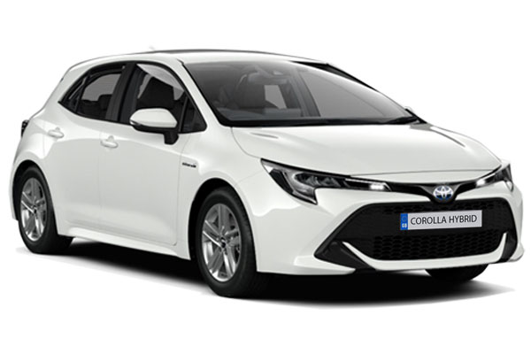 Toyota Corolla Hybrid Hatchback 1.8 VVTi Hybrid Icon 5dr CVT Business Contract Hire 6x35 10000