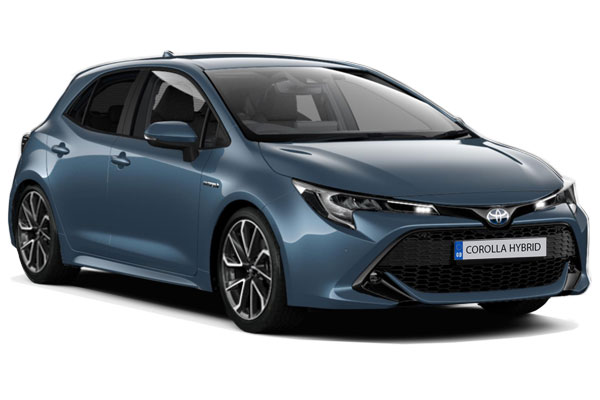 Toyota Corolla Hybrid Hatchback 1.8 VVTi Hybrid Excel 5dr CVT Business Contract Hire 6x35 10000