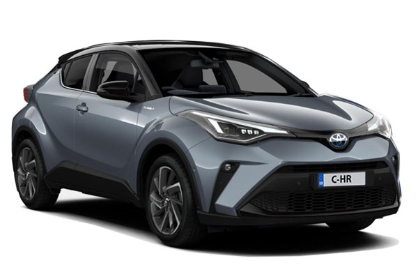 Toyota C-HR Hatchback 1.8 Hybrid Dynamic 5dr CVT [Leather] Business Contract Hire 6x35 10000