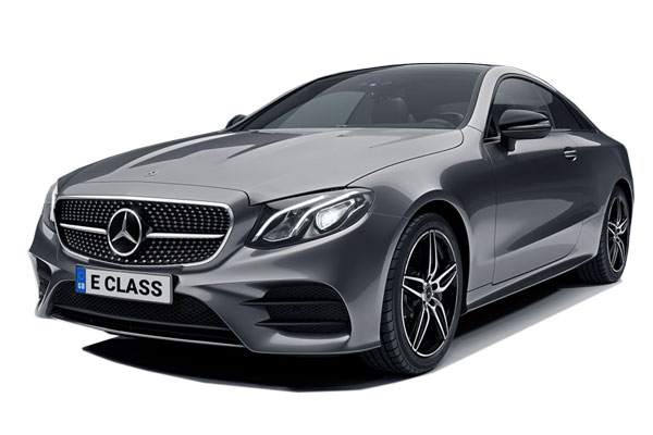 Mercedes Benz E Class Diesel Coupe E220d AMG Line Night Edition Premium Plus 2dr 9G-Tronic Business Contract Hire 6x35 10000