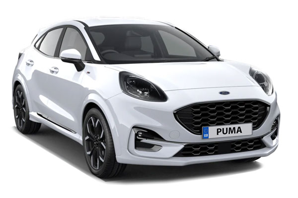 Ford Puma Hatchback 1.0 EcoBoost Hybrid mHEV ST-Line X 5dr Business Contract Hire 6x47 10000