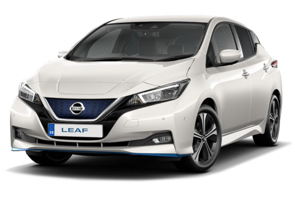 Nissan Leaf Hatchback Special Edition 160kW e+ N-TEC 62kWh 5dr Auto Business Contract Hire 6x35 10000