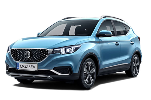 MG ZS Electric SUV Hatchback 105kW Exclusive EV 45kWh 5dr Auto Business Contract Hire 6x35 10000