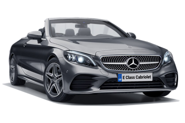 Mercedes Benz E Class Diesel Cabriolet E220d AMG Line Premium 2dr 9G-Tronic Business Contract Hire 6x35 10000