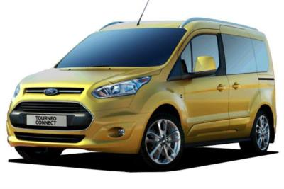 Ford Tourneo Connect 1.0T Ecoboost 100ps Style 5dr Start/Stop 6Mt Business Contract Hire 6x35 10000