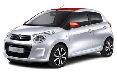 Citroen C1 Hatchback 1.0i VTi PureTech 82ps Airscape Feel 5dr 5Mt Business Contract Hire 6x35 10000