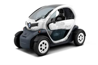 Renault Twizy 13Kw (17hp) Cargo Business Contract Hire 6x35 10000