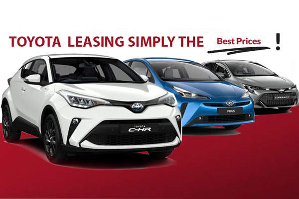 100's of NEW Toyota's to choose from